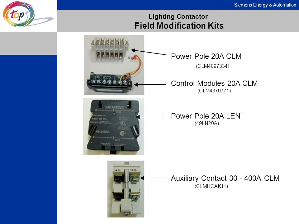 Lighting Contactor Field Modification Kits