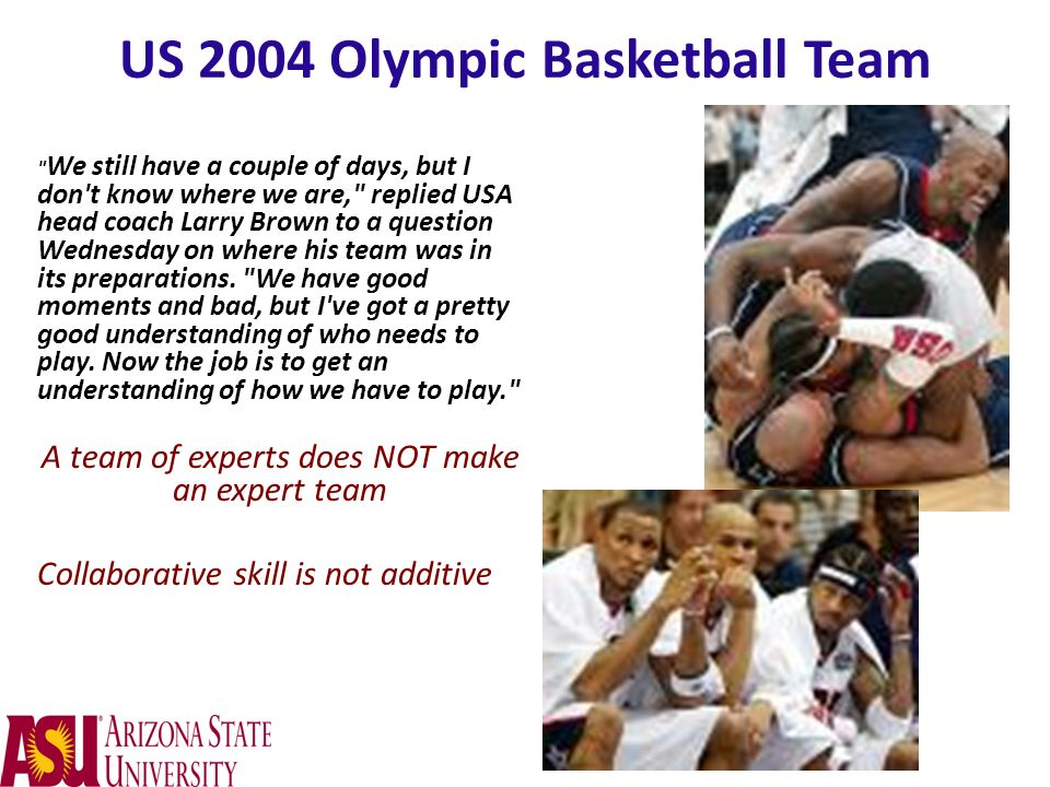 US 2004 Olympic Basketball Team