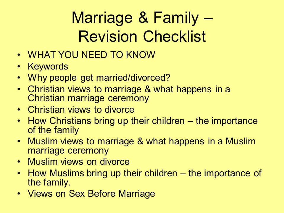Sex before marriage christian view