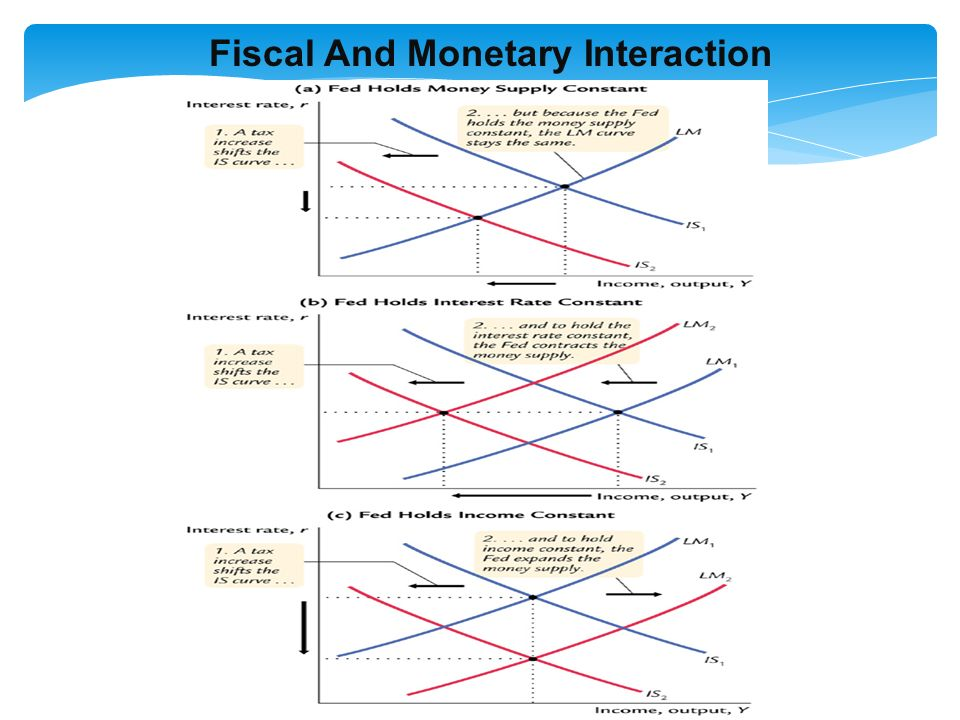 Fiscal And Monetary Interaction