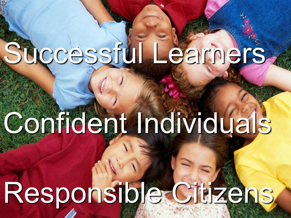 Successful Learners Confident Individuals Responsible Citizens