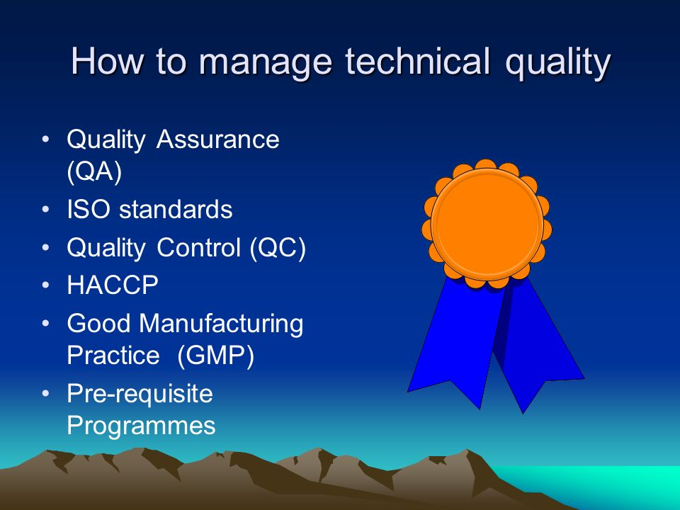 How to manage technical quality