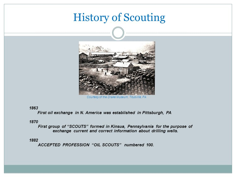 History of Scouting