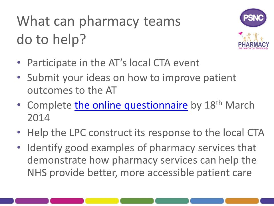 What can pharmacy teams do to help