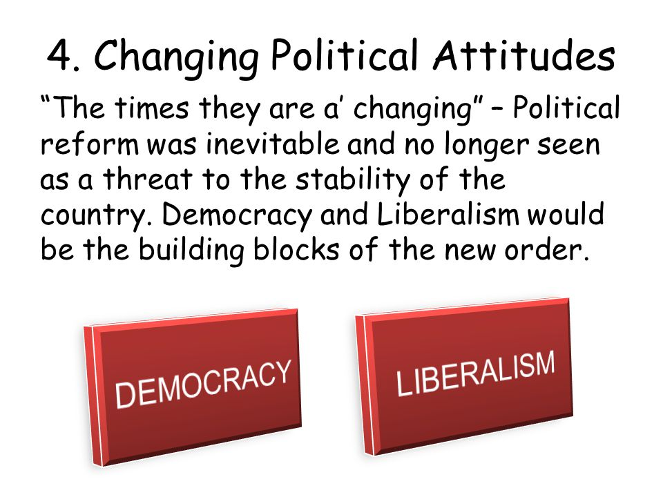 4. Changing Political Attitudes