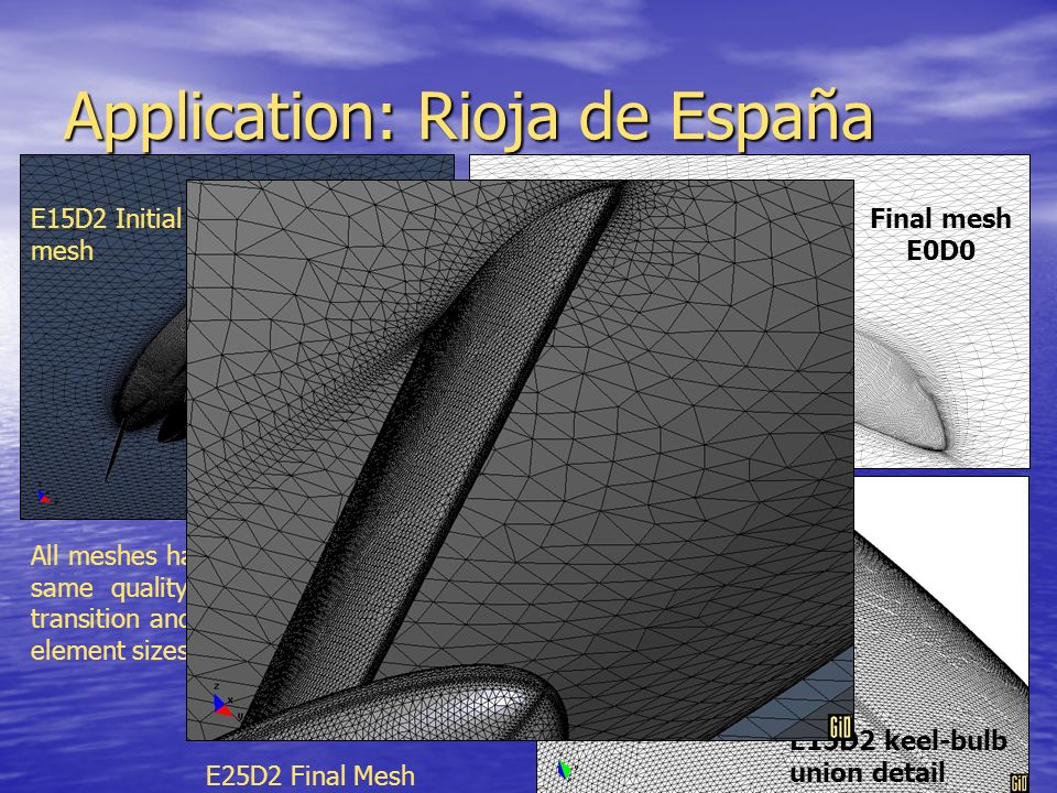Application: Rioja de España