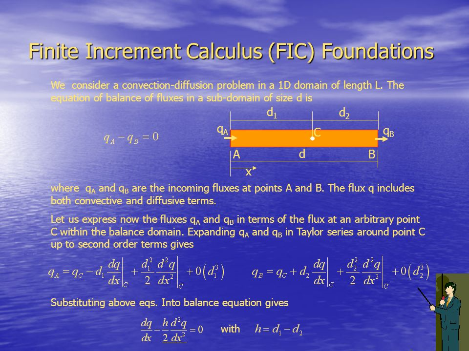 Finite Increment Calculus (FIC) Foundations