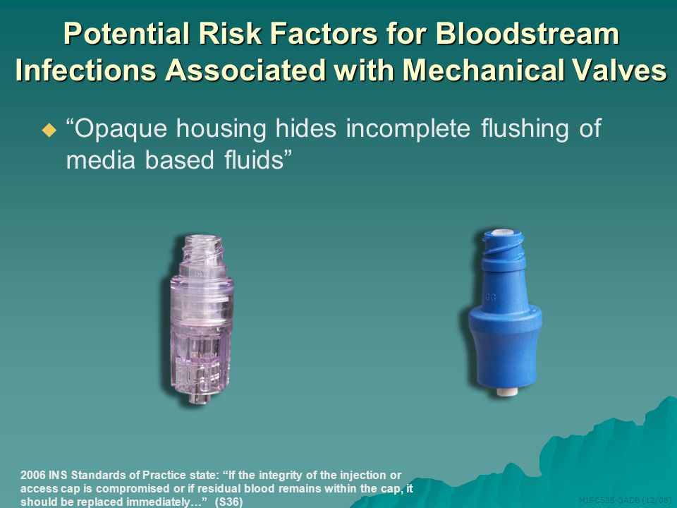 Potential Risk Factors for Bloodstream Infections Associated with Mechanical Valves
