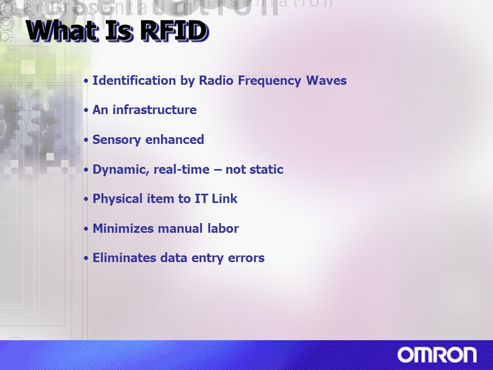 What Is RFID Identification by Radio Frequency Waves An infrastructure