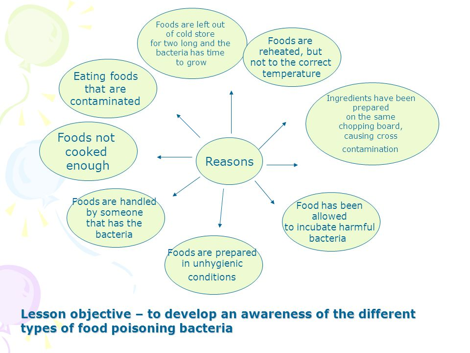 What is Food Poisoning Lesson objective – to develop an