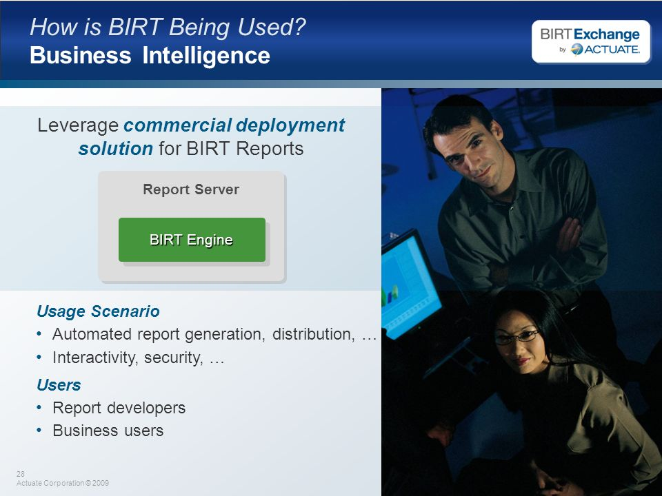 How is BIRT Being Used Business Intelligence