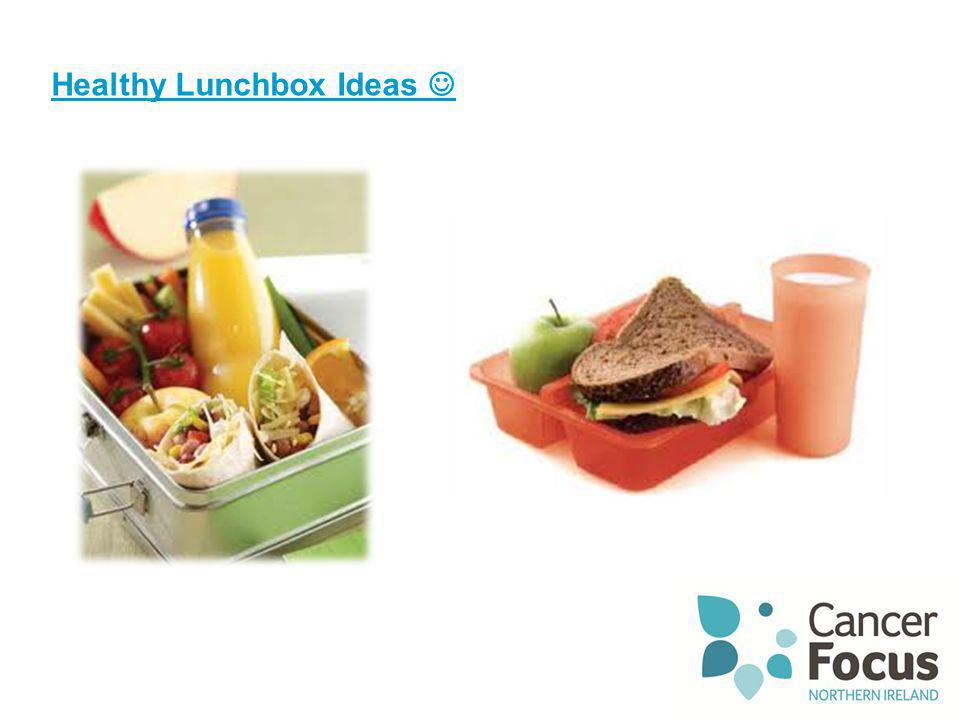 Food A Fact Of Life Make A Healthy Lunchbox