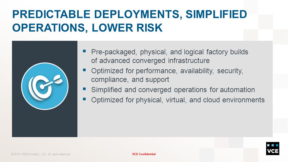 Predictable Deployments, Simplified Operations, Lower Risk
