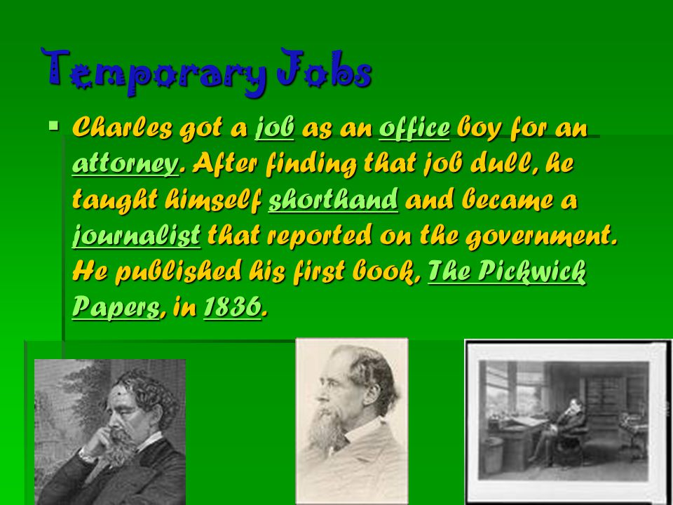 Charles Dickens biography - ppt video online download
