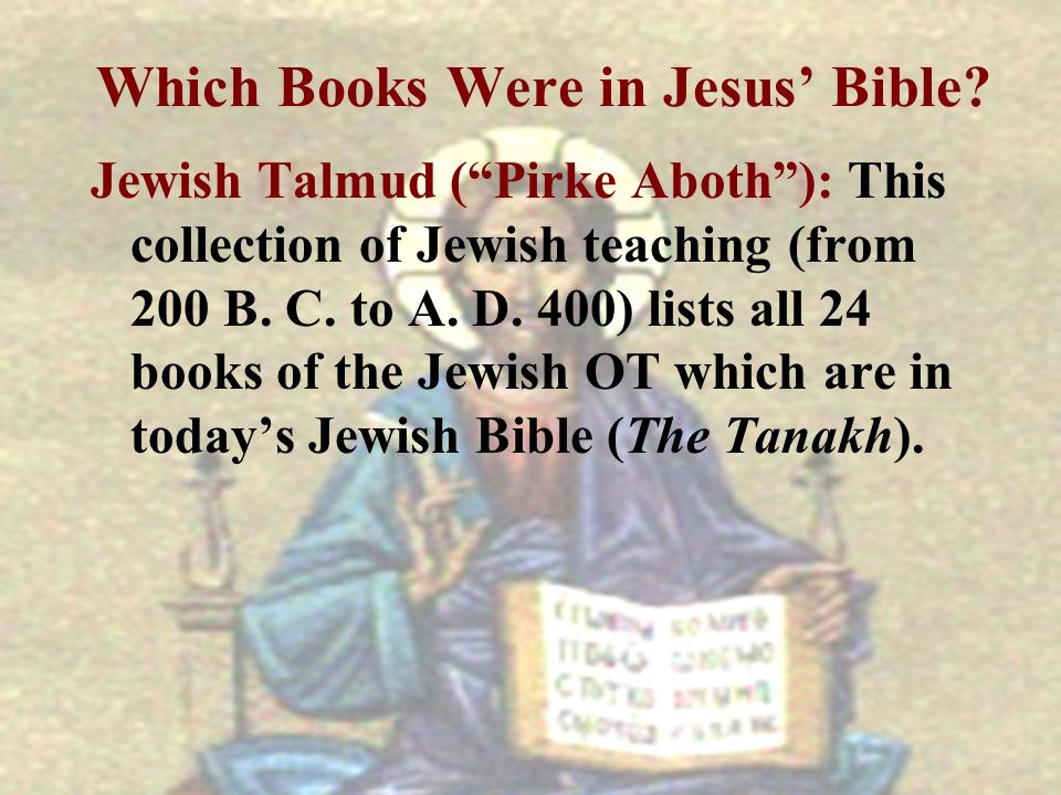 Which Books Were in Jesus' Bible