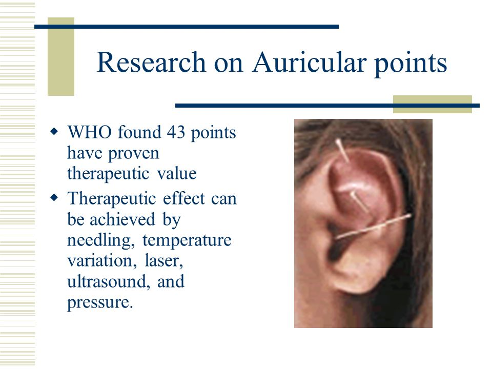 Research on Auricular points