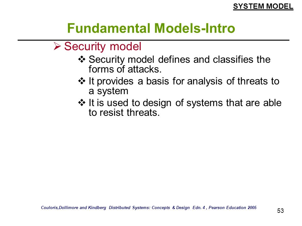Fundamental Models-Intro