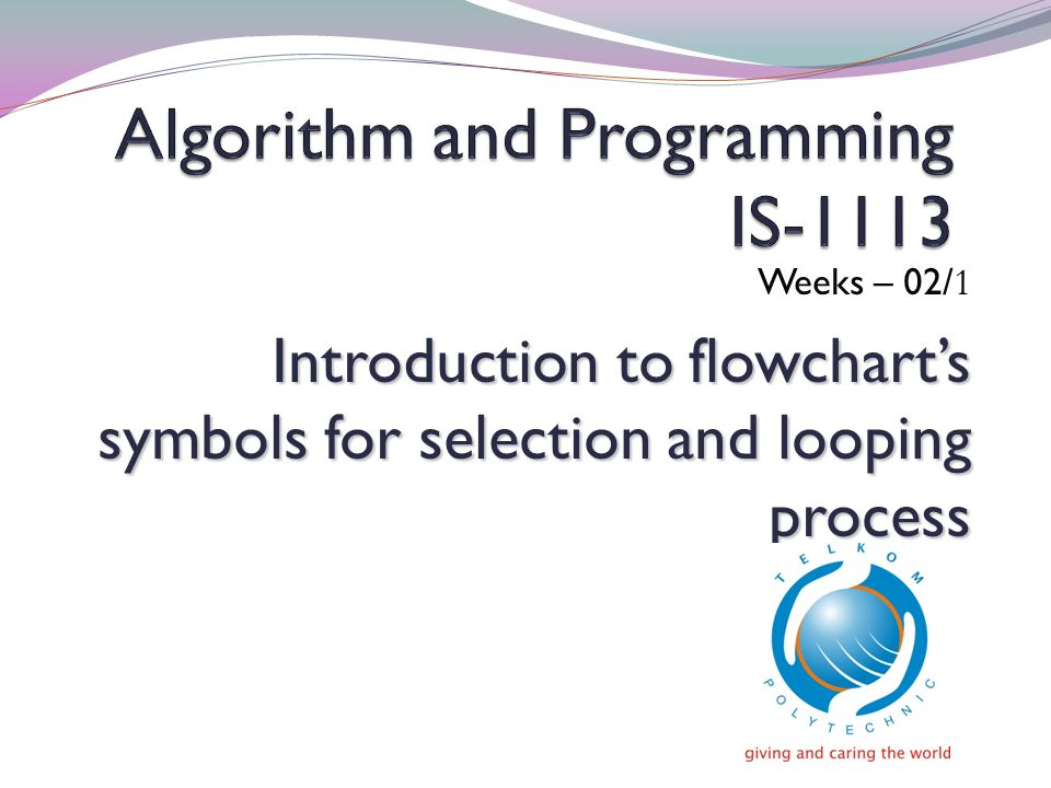 Algorithm and Programming IS-1113