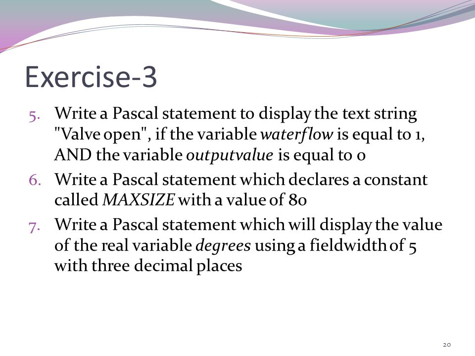Exercise-3
