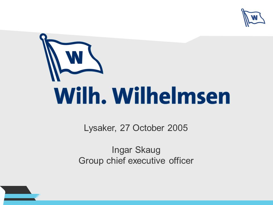 Group chief executive officer