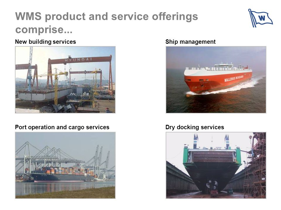 WMS product and service offerings comprise...