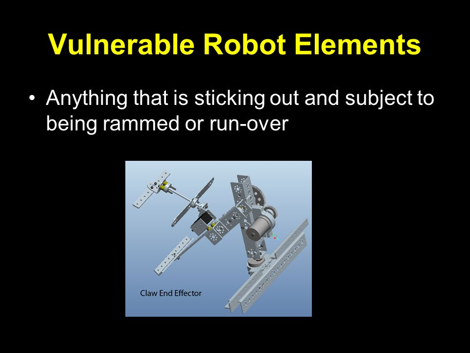 Vulnerable Robot Elements