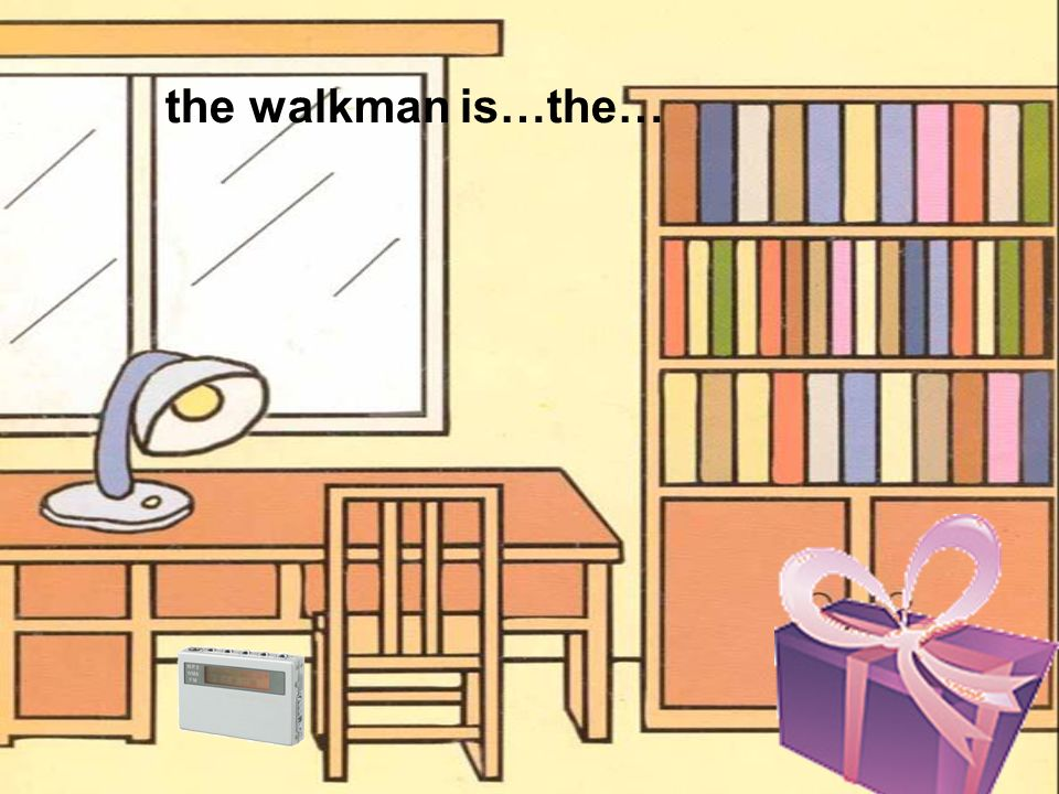 the walkman is…the…
