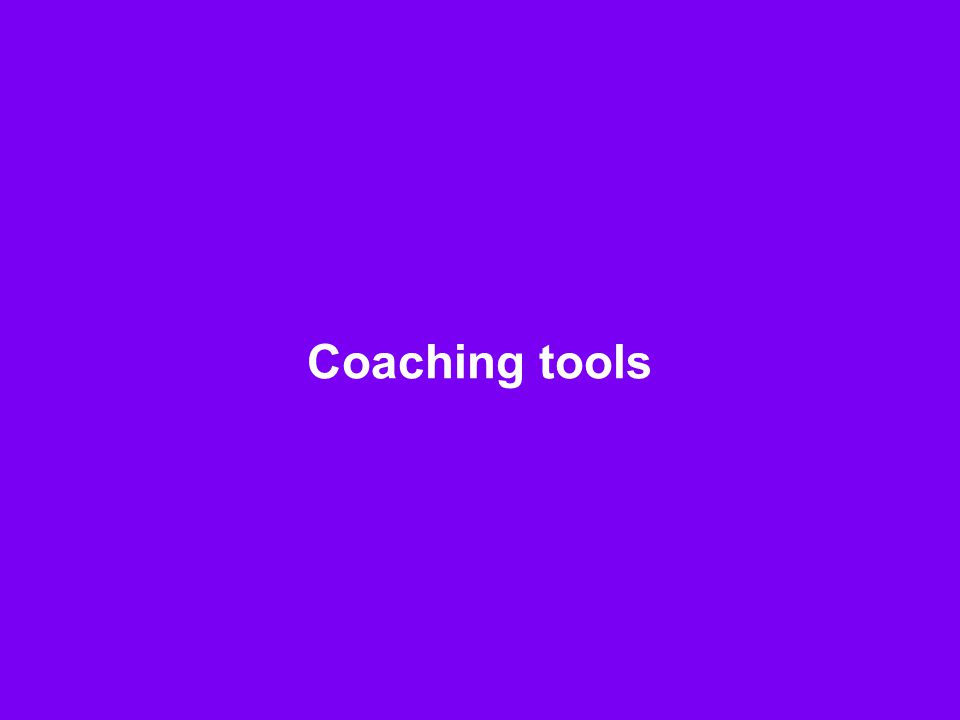 Coaching tools F1b-4