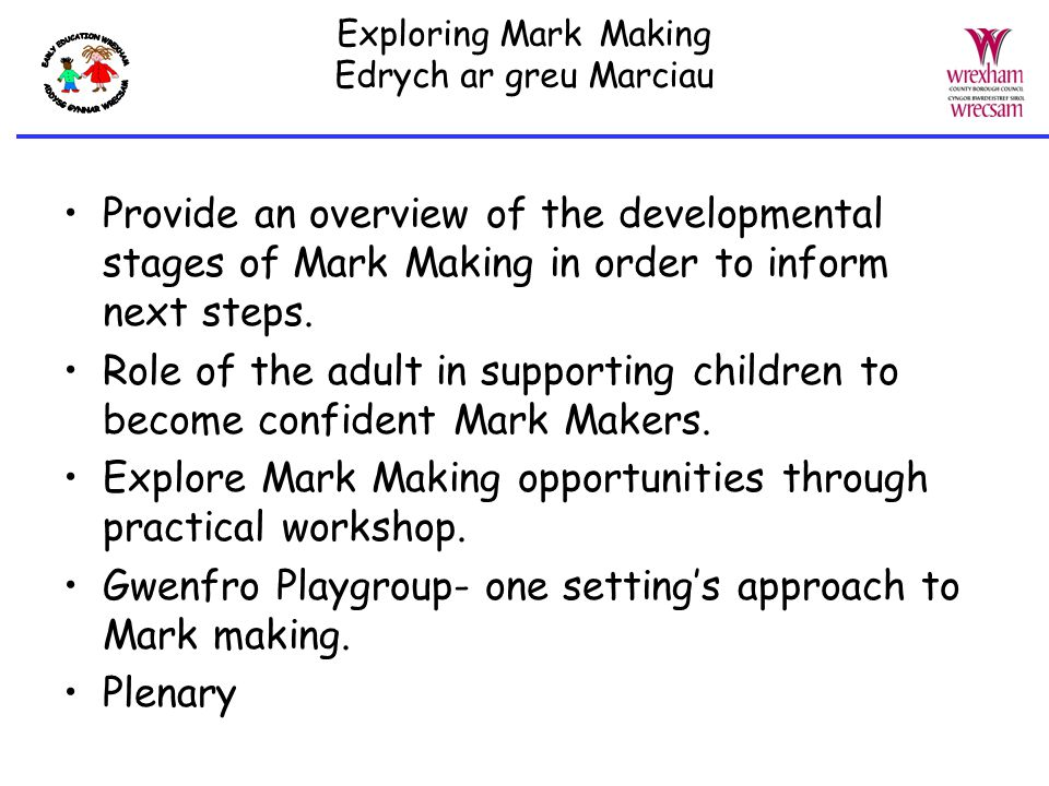 mark making research