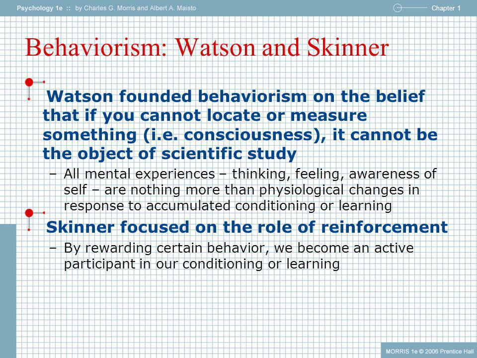Behaviorism: Watson and Skinner