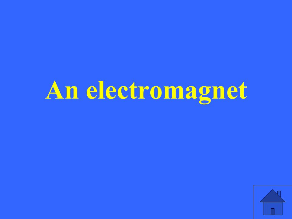 An electromagnet