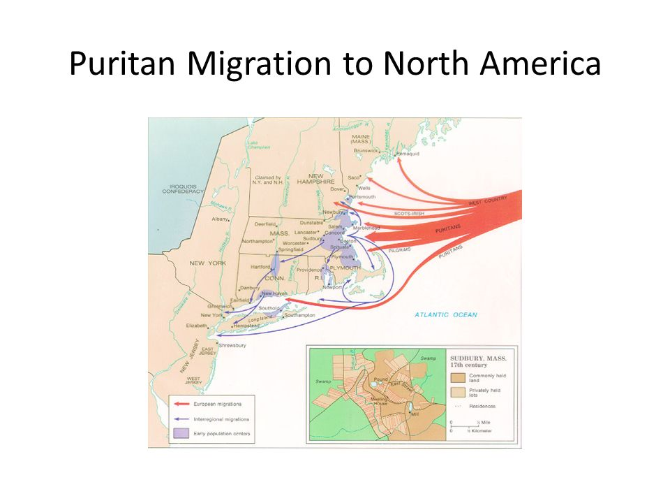 Puritan Migration to North America