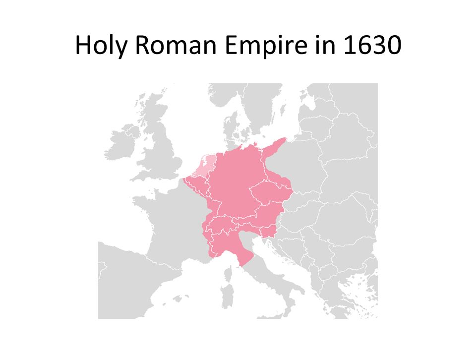 Holy Roman Empire in 1630