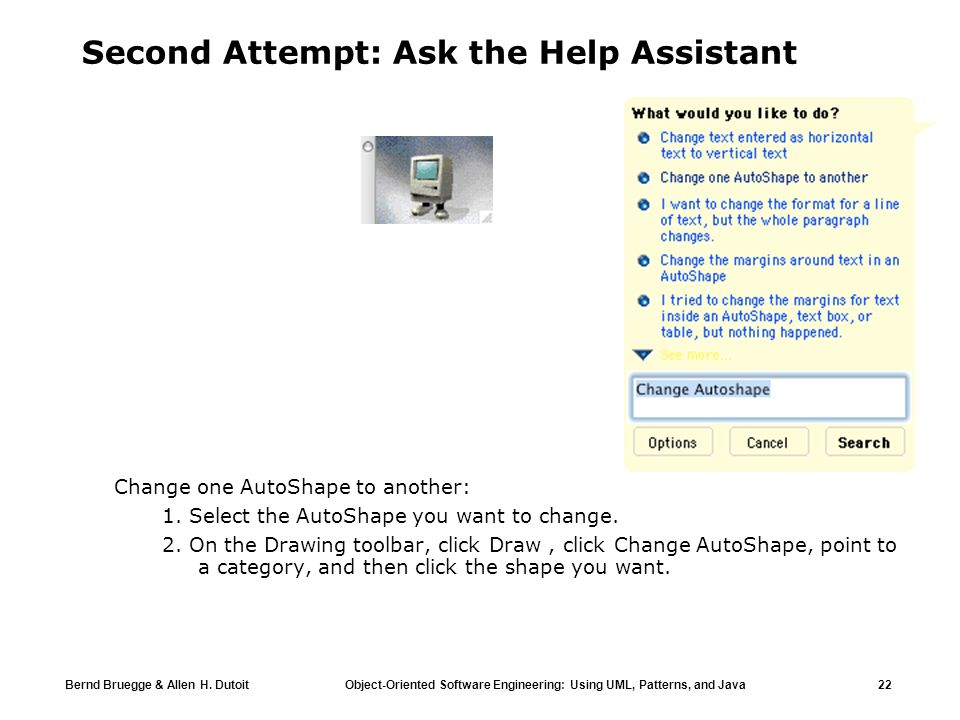 Second Attempt: Ask the Help Assistant