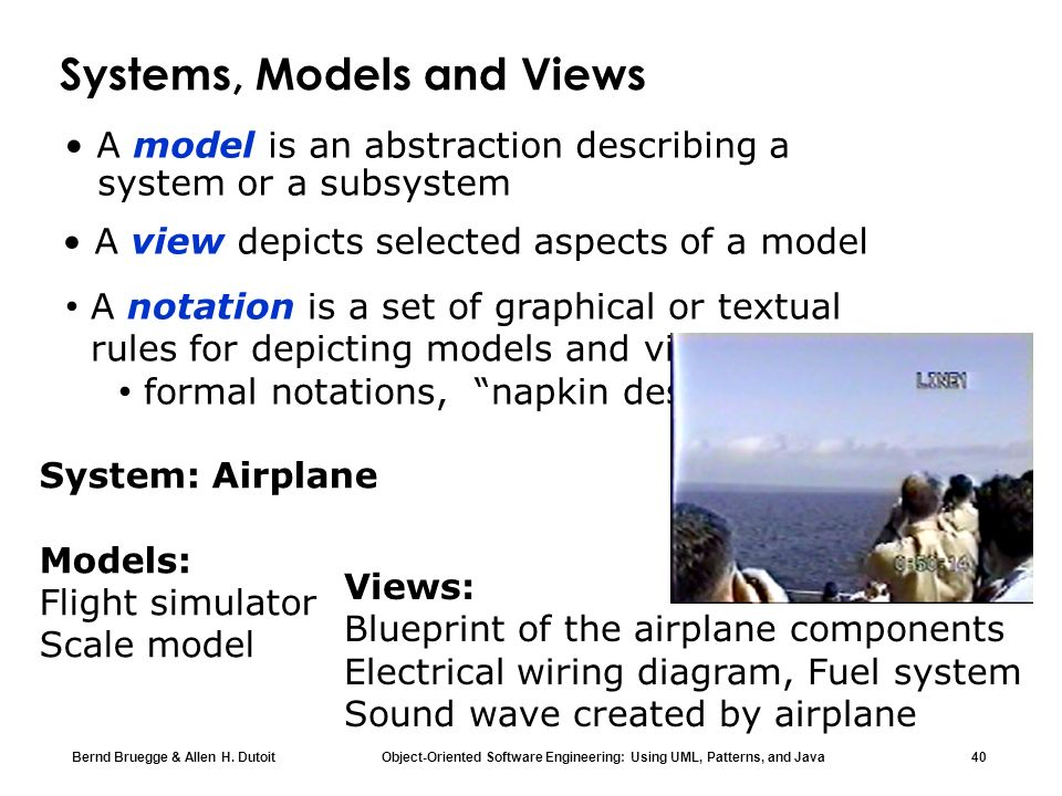 Systems, Models and Views