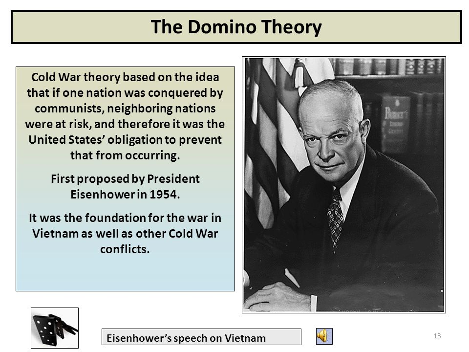 domino theory speech