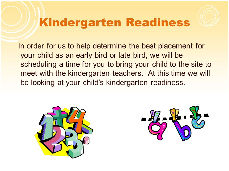 Determining Placement For Your Child >> Ready Set Go Kindergarten Presentation Ppt Download