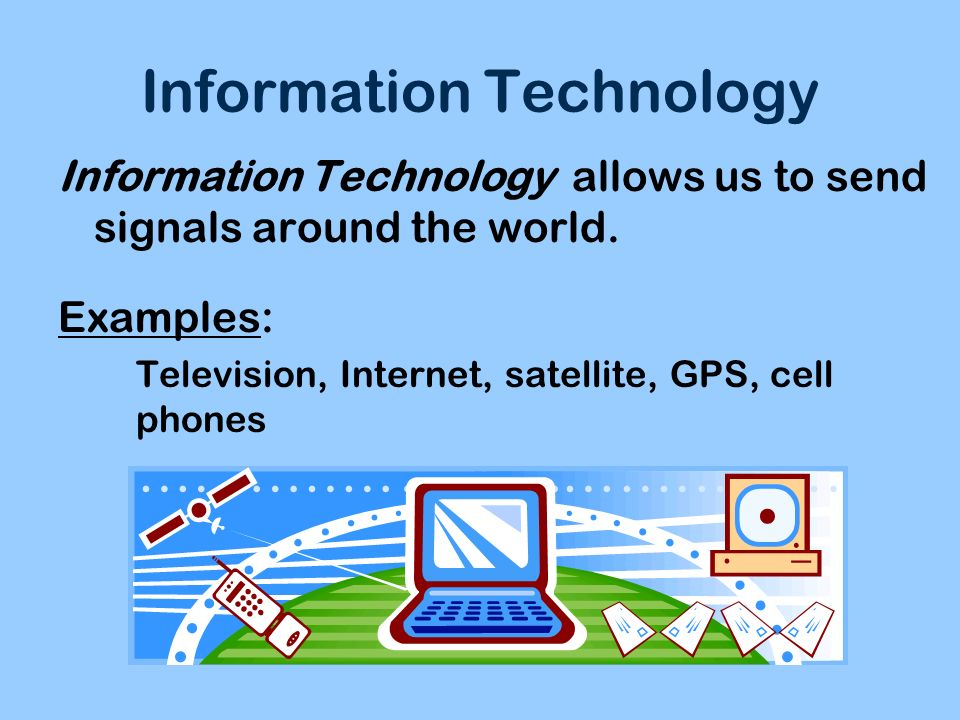 information technology examples