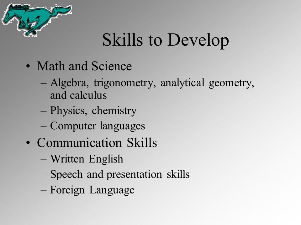 Skills to Develop Math and Science Communication Skills