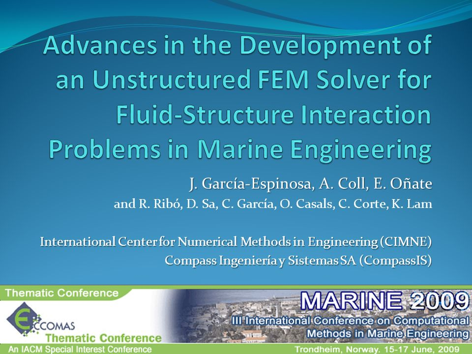 Advances in the Development of an Unstructured FEM Solver for Fluid-Structure Interaction Problems in Marine Engineering