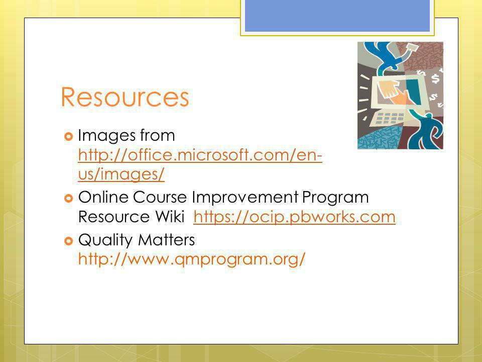Resources Images from