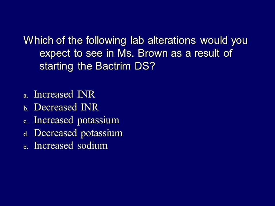 Which of the following lab alterations would you expect to see in Ms