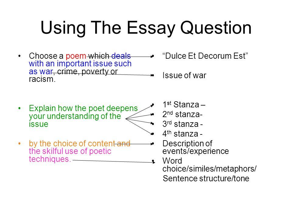 Author's argument in