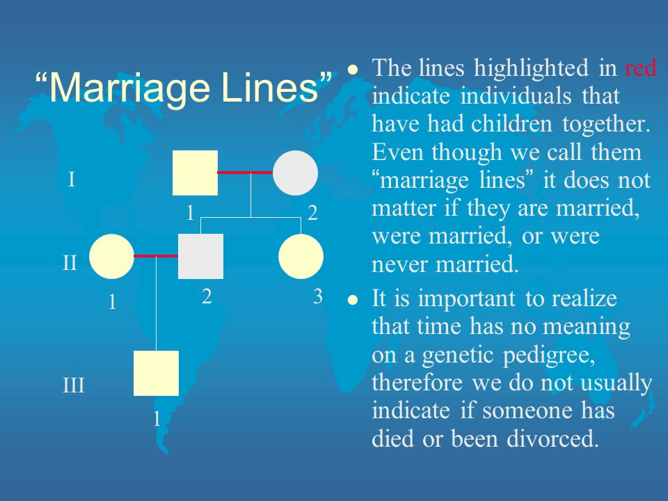 Marriage Lines