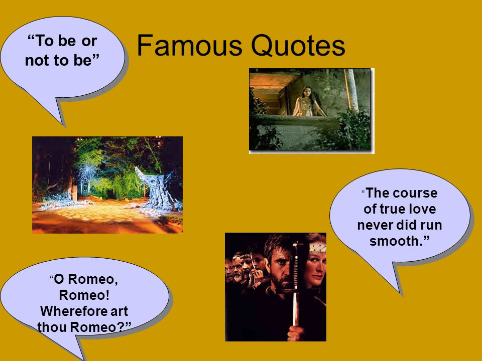 Famous Quotes To be or not to be