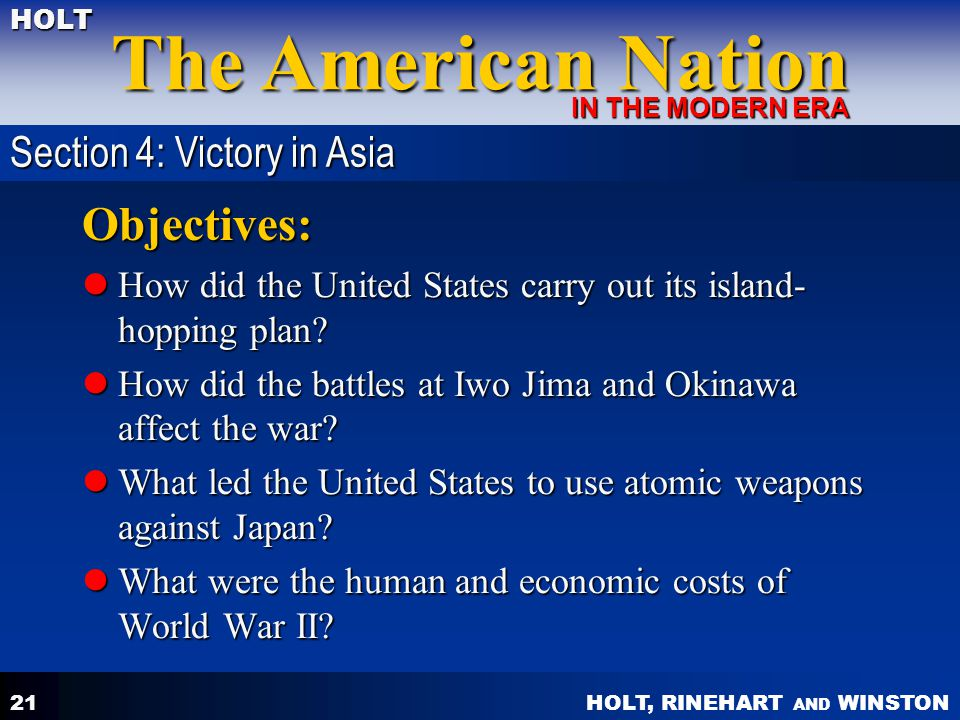 Chapter 18 Americans In World War Ii Ppt Video Online Download. Worksheet. Island Hopping Worksheet Answers At Mspartners.co
