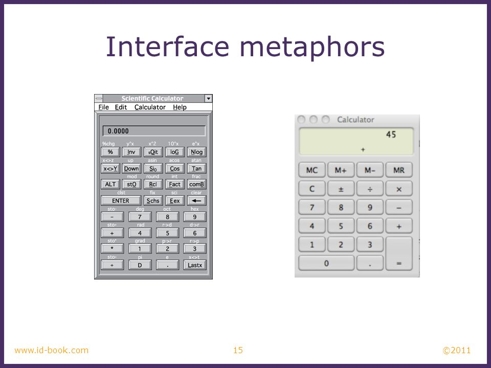 Interface metaphors Which is best and why