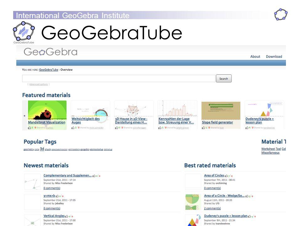 GeoGebra Dynamic Mathematics for Everyone - ppt download