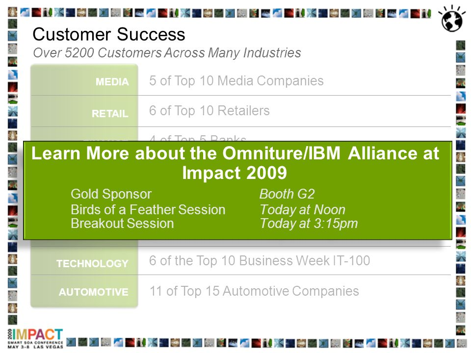 Customer Success Over 5200 Customers Across Many Industries