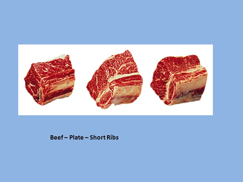 Beef – Plate – Short Ribs